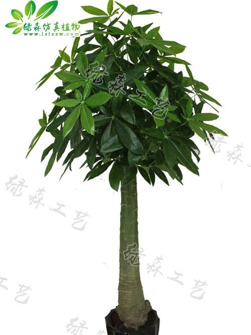 仿真木瓜杆发财树
