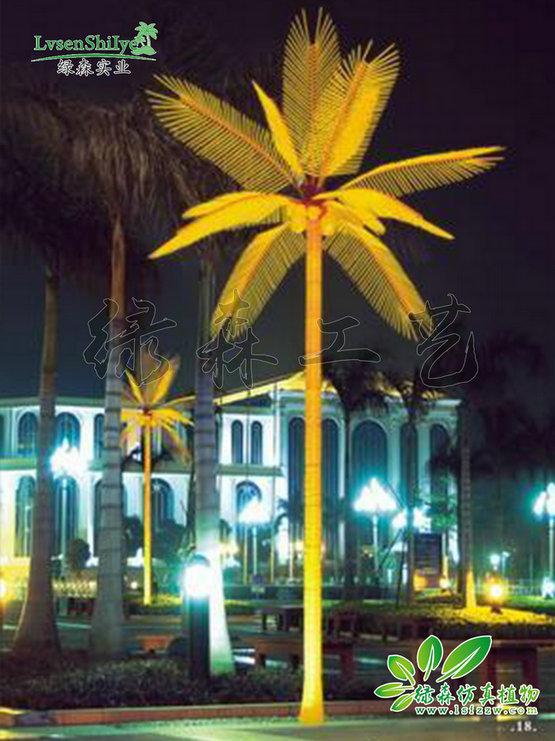 AG亚博发光椰子树