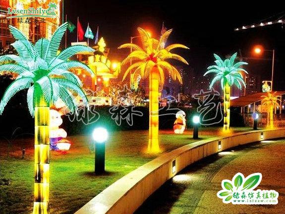 AG亚博发光椰子树03