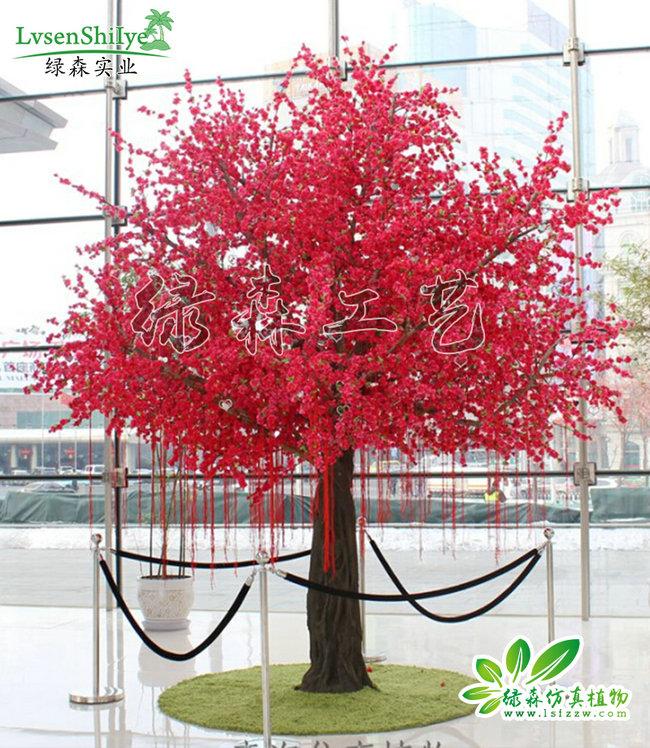 仿真桃花树10