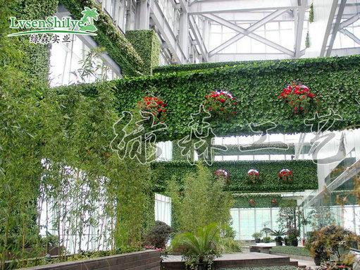 AG亚博植物墙15